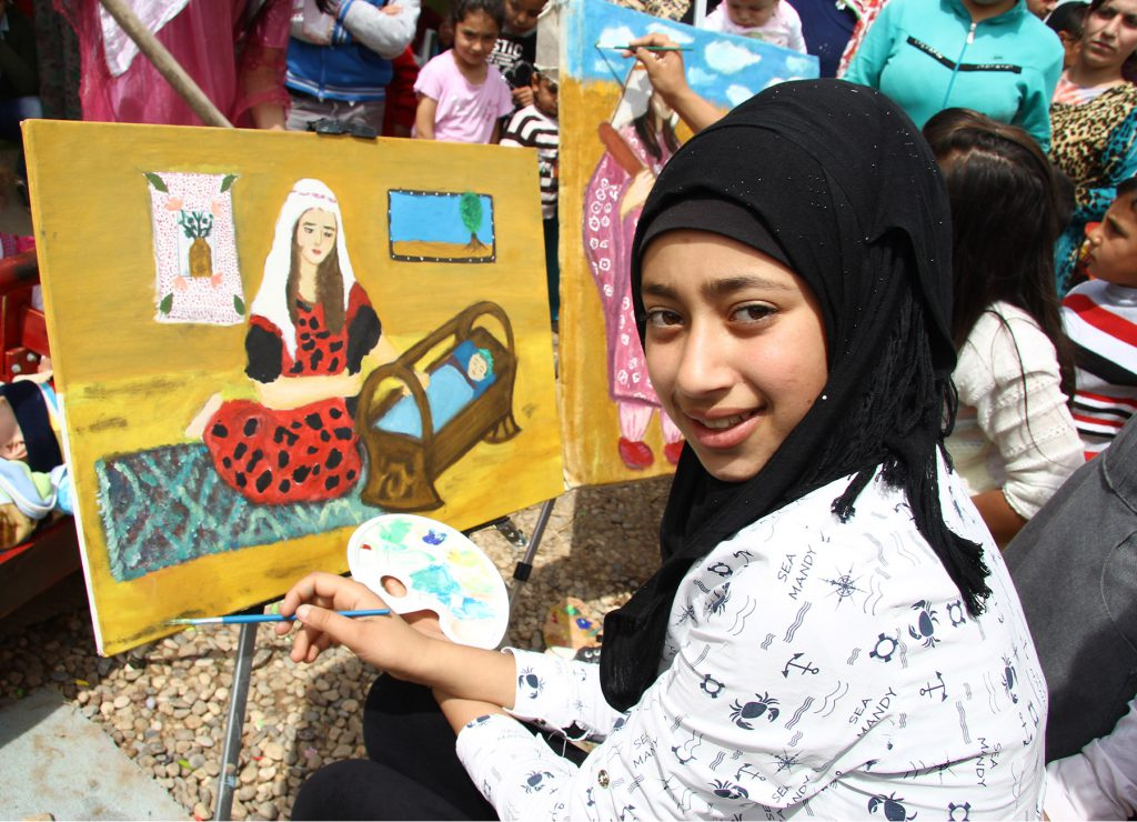 Domiz_flygtningelejren_irak