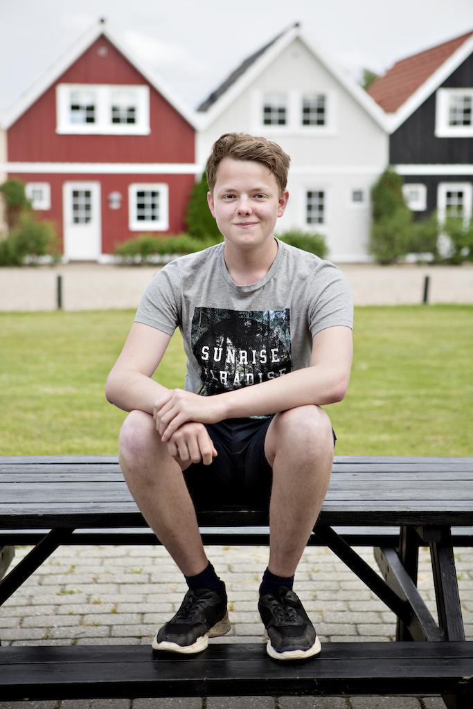 Dansk Folkehjælp Ho Feriecenter 2020. William er 17 år.
